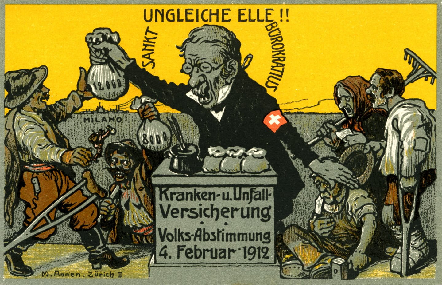 1912: A referendum campaign unparalleled in Swiss history